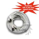 LX-100 - 100' Feet CCTV Surveillance Camera Siamese Power Video Cable LX100