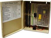 QS1210 - Power Distribution Panel 18 camera 12 volt 10 AMP