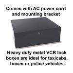 ENC-VCR-3 - VCR/DVR Lock Box (ENCVCR3)