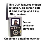 MDVR-10 - Mini DVR and Receiver