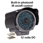 PC177IR-5   Color Infrared Video Security Camera 150ft Range