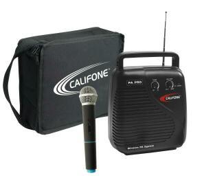 PA10A-1 - PA Pro, handheld wireless mic, case