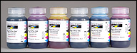 ECR-B16-6 - Set of 6, 16oz. Bottles (CcMmYK) Epson Plug-N-Play Replacement Ink for R260, R380, RX580 & 1400