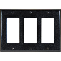004-80411-00E - Triple Gang Wall Plate