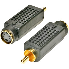 251-153 - S-Video to RCA Adapter