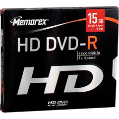 3202-5503 - HD DVD-R Write Once Disc