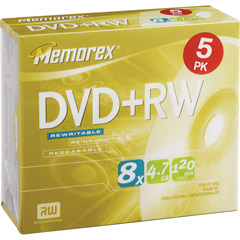 3202-5517 - 8x Rewritable DVD+RW Slim