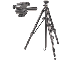 620-050 - Fieldmaster Tripod with Universal Panhead and Universal Ball Head