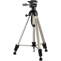 620-092 - Tripod with 3-Way Panhead Bubble Level and 1'' Leg Diameter