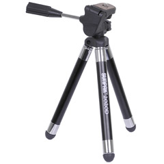620-2020D - Tabletop Tripod with 3-Way Panhead