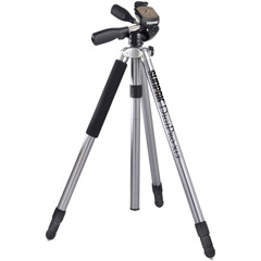 620-510 - DigiPro XLT Digital Camera Tripod with 3-Way Panhead and Quick-Release System