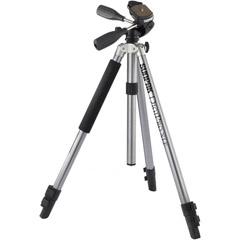 620-520 - DigiPro XLF Digital Camera Tripod with 3-Way Panhead and Quick-Release System