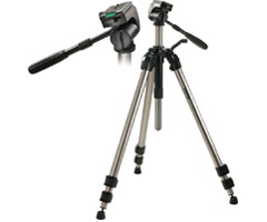 620-777 - Ultra-Pro Tripod with 3-Way Fluid-Effect Head