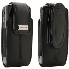 81692RIM - Leather Vertical Pouch with Belt Clip