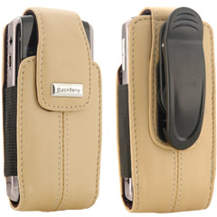 81693RIM - Leather Vertical Pouch with Belt Clip