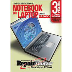 A-RML32000 - Laptop/Notebook 3 Year DOP Warranty