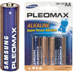 AA4 SAMSUNG - Alkaline Battery Retail Pack