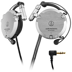 ATH-EM7GM - Lightweight Aluminum Alloy Clip-On Headphones