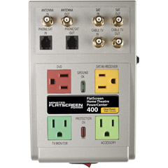 FSHTS400 - 4-Outlet High Performance PowerCenter with Coax and Phone Line Protection