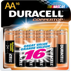 MN-15RT16Z - AA Alkaline Battery Value Retail Pack
