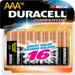 MN-24RT16Z - Alkaline Batteries Value Packs