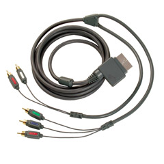 MAD CATZ - MOV-047550 - 7' Component Video/Optical Audio Cables for Xbox 360