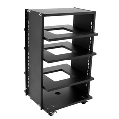 HOLOVISION - ROLL-26S - Rolling Audio Video Equipment Racks
