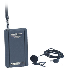 S1600 - Wireless Lapel Microphone Kit