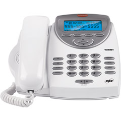 SBC-116 - Corded 1-Line Multi-Function Telephone with Talking Caller ID