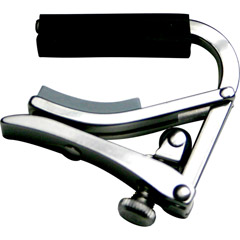 SHUBB S5 - Stainless Steel Deluxe Guitar Capo