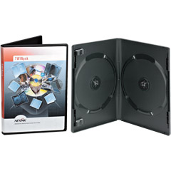 TWINPAK-14MM - TWINpak Double DVD Storage Case