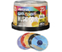 1540-2510 - 40x Cool Colors Write-Once CD-R Spindle for Audio