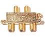 200-214 - Mini 5900MHz Gold-Plated F Splitter