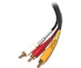 206-273 - Composite Video/Stereo Audio Cable