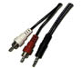 255-045 - Stereo 3.5mm to RCA Cable