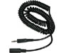255-185 - Coiled 3.5mm Stereo Headphone Extension Cable