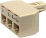 300-324 - 4-Conductor 2-Line Split Adapter