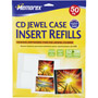 3202-0700 - White CD Jewel Case Inserts