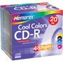 3202-4620 - 48x Cool Colors Write-Once CD-R