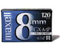 P6-120 GX-M - GX-MP 8mm Metal Particle Videocassette