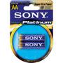 AA2 SONY - Stamina Platinum Alkaline Battery Retail Packs