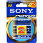 AA4+2 SONY - AA Platinum Alkaline Battery Bonus Retail Pack