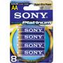 AA8 SONY - Stamina Platinum Akaline Battery Value Packs