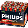 AAA20 PHILIPS - AAA Alkaline Batteries Bulk Packs