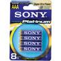 AAA8 SONY - Stamina Platinum AAA Akaline Batteries