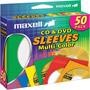 CD-401 - Multi-Color CD/DVD Sleeves