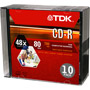 CD-R80M/10 - 48x Write-Once CD-R for Data