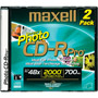 CDR-700PPRO/2 - 48x Photo Pro Write-Once CD-R