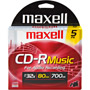 CDR-80MU/5 - 32x CD-R for Music