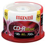 CDR-80MU/50 - 32x Write-Once CD-R Spindle for Audio